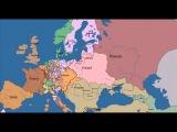 10 веков за 5 минут Как менялась карта Европы,в т ч России, Украины и Кавказ